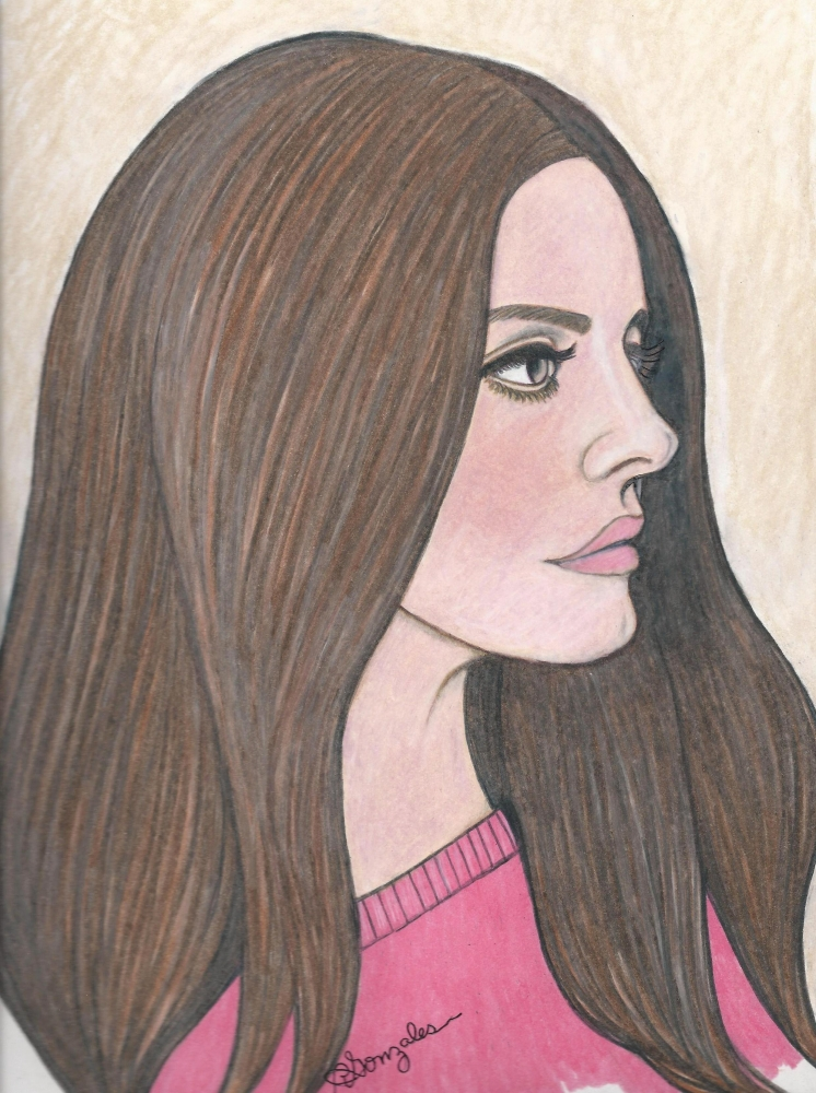 Lana Del Rey by aaronmark